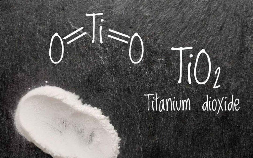EFSA attesta che il biossido di titanio non è più considerato sicuro se usato come addittivo alimentare